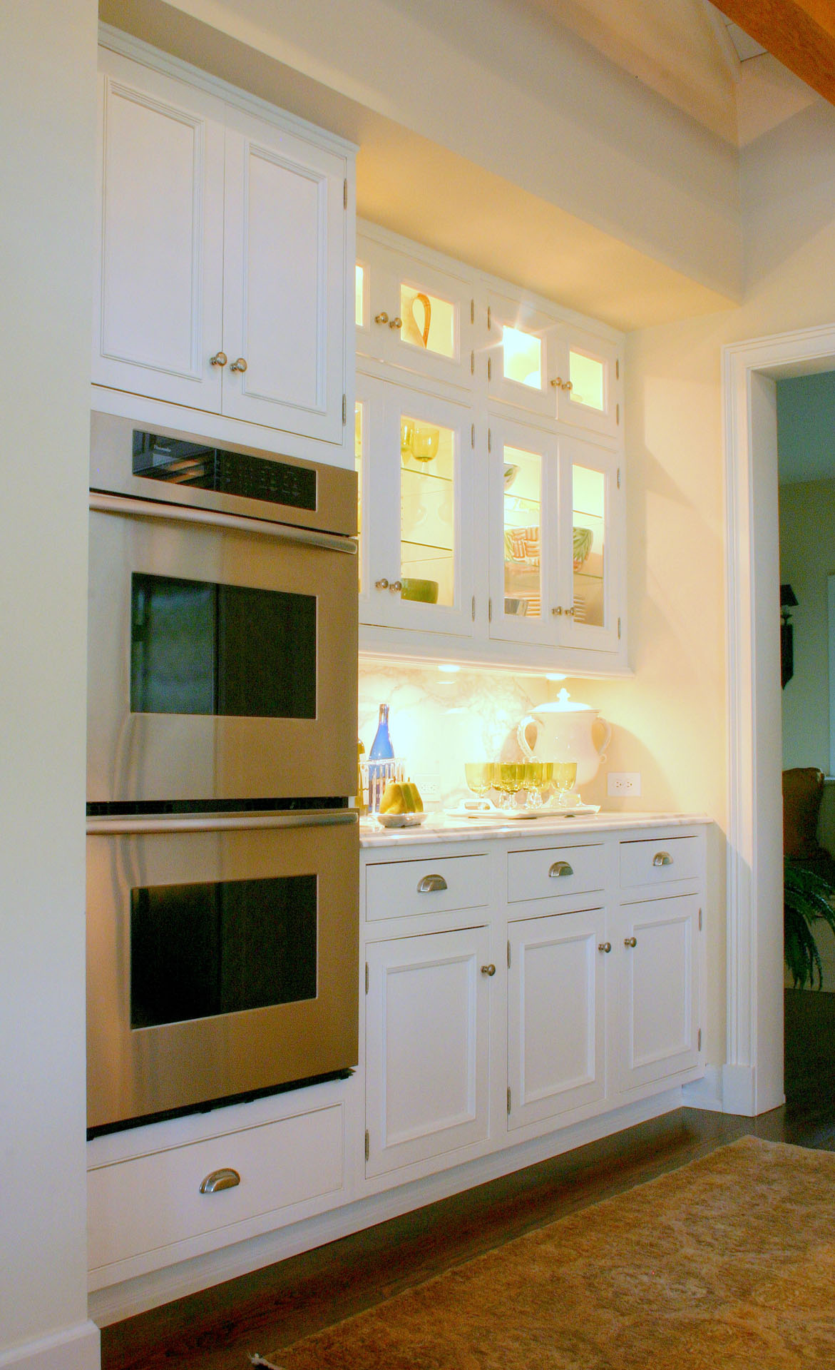 54th Street Painted Kitchen with Inset Doors