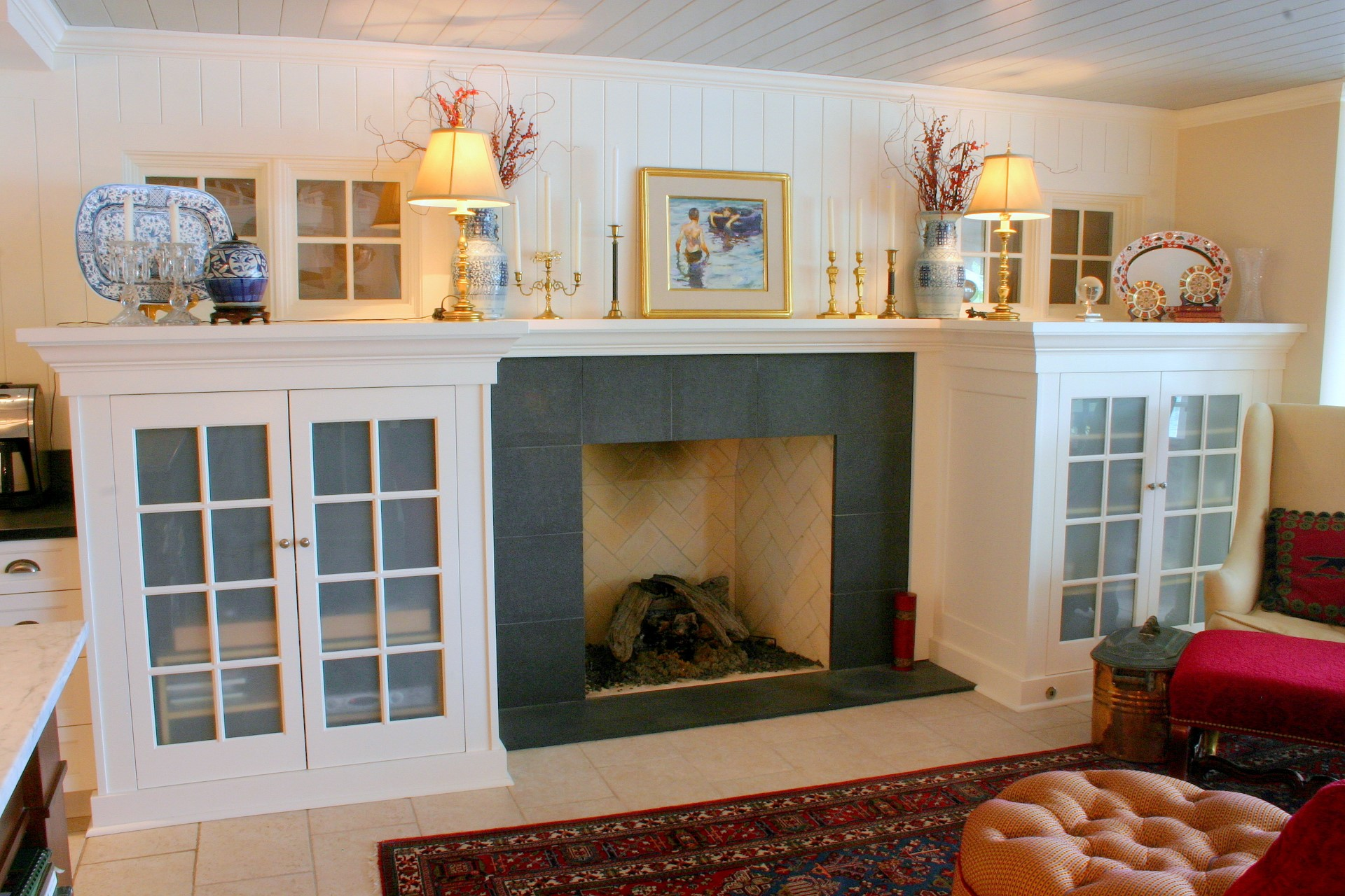 Clearwater Fireplace Cabinets
