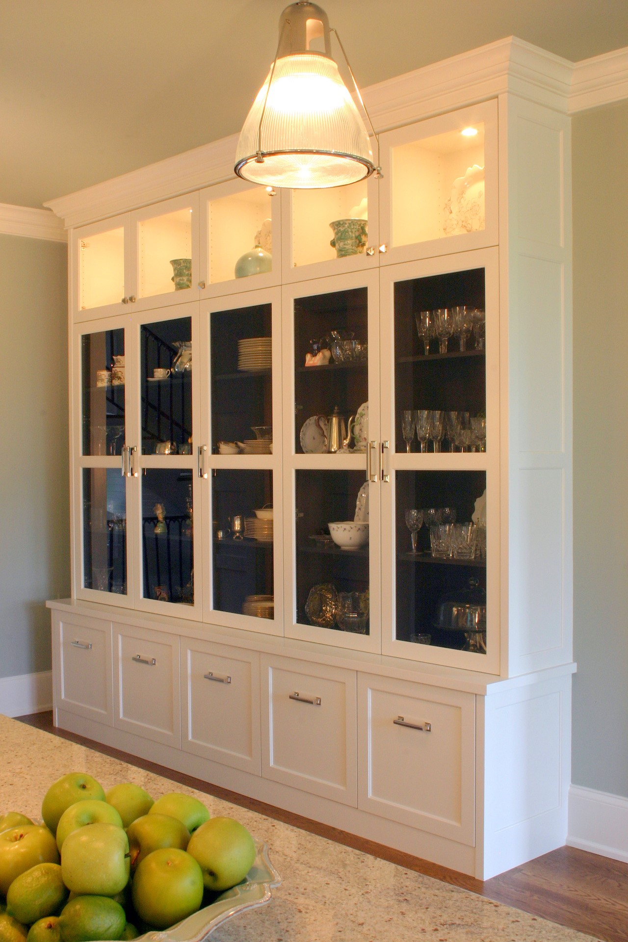 Wellington Park Painted Kitchen Butlers Pantry