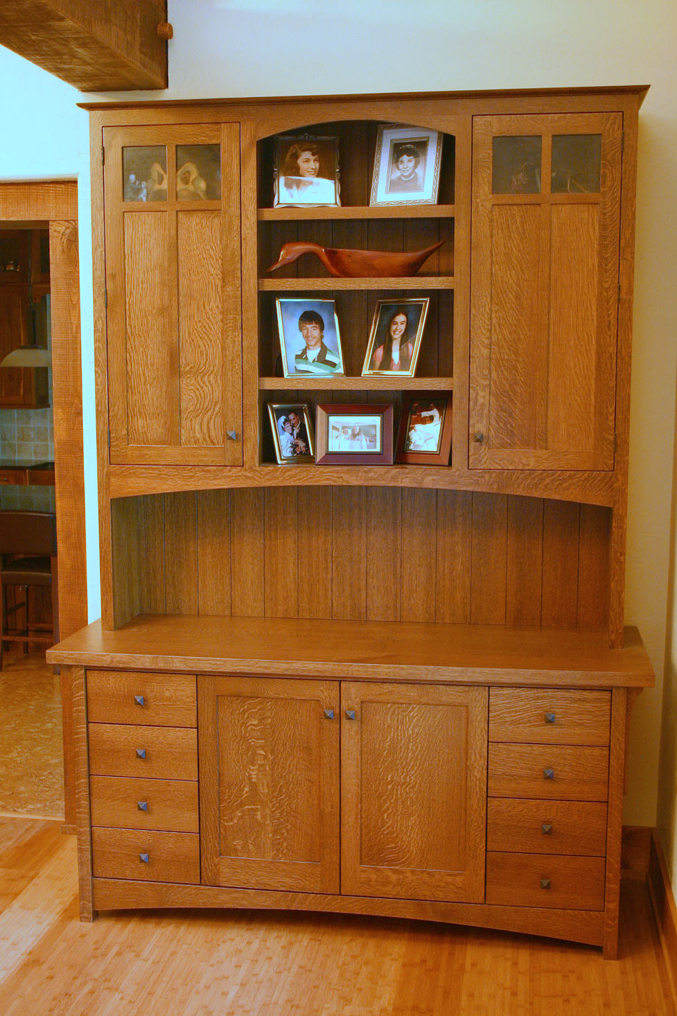 Willow Llodge Arts and Crafts desk